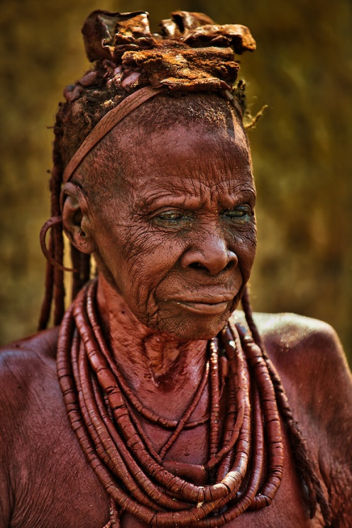 Himba-Tribe-Elder-Wearing-Necklaces